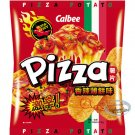 Calbee PIZZA Flavor Potato Chips Hot & Spicy thick cuts chip snacks 50g x2