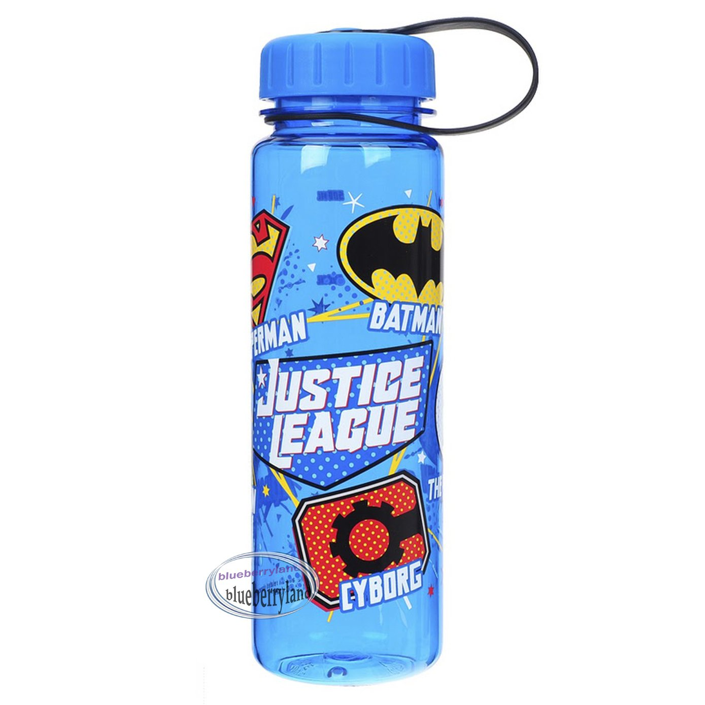 Justice League BPA Free Water Juice Bottle 500ml drinkware sports school boys ladies