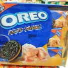 Oreo Salted Caramel flavor Sandwich cookie Biscuit packs sweets treats snacks