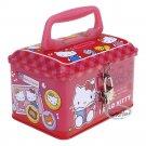 Sanrio Hello Kitty Piggy Bank Metal Cash Box with Lock & Key gift girls ladies T9