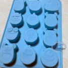 Disney Monsters Inc SILICONE Mold Food Cake Chocolate Mould jello ice cube jelly