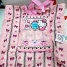 Sanrio Hello Kitty Foldable Shopping Eco Tote Bag handbag women ladies girls Pink