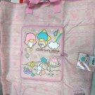 Sanrio Little Twin Stars Foldable Shopping Eco Tote Bag handbag women ladies girls Pink