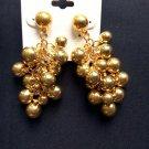 Fashion Goldtone Ball Drop Earrings Jewelry Jewellery women ladies girl