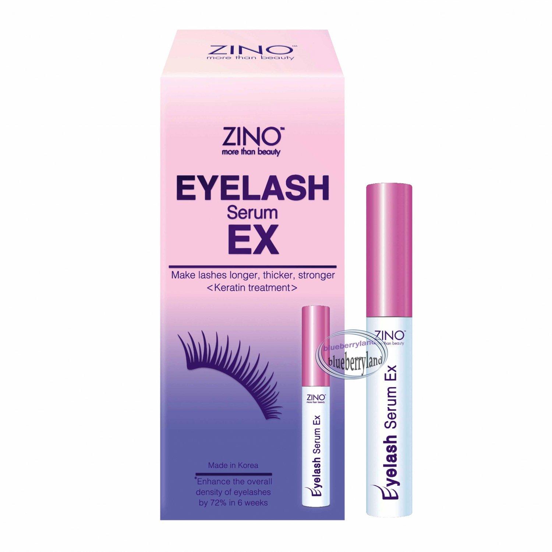 ZINO Eyelash SERUM EX Enhancing Serum Eyelash Growth Mascara 5ml ladies eye care makeup