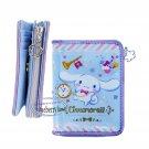 Sanrio Cinnamoroll Bifold Wallet PVC Laminated purse ladies coin bag girl purses
