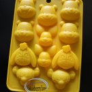 Winnie the Pooh SILICONE Chocolate Mold Piglet Tigger Eeyore Food Mould jello pudding cube jelly