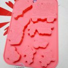 Disney MICKEY MOUSE & Donald Duck SILICONE Mold Food Cake Mould jello pudding ice jelly chocolate