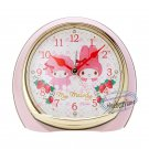 Sanrio My Melody Alarm Clock with LIGHT SWEEP SECOND & Music bedside table bedroom wake up call