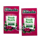 Ricola Swiss Herbal Sugar-free Mint Blackcurrant Pearls Candy 2 boxes Candies snack sweet