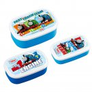 Thomas & Friends Bento Lunchbox Food Container lunch box case 3pc boys kids trains