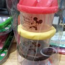 Disney Mickey Mouse Baby Milk Powder Dispenser Container set 3 layers with funnel