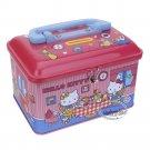 Sanrio Hello Kitty Piggy Bank Metal Cash Box with Lock & Key gift girls ladies saving money T1