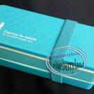 Japan Bento Lunchbox Set Belt Bag Food Container Ladies lunch box kids Blue case