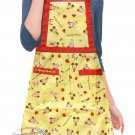 Disney MICKEY MOUSE Apron Home Kitchen Adult COOKING baking Household Ladies