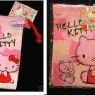 Sanrio Hello Kitty Drawstring Bag Multi purpose Case bags cosmetic ladies girls