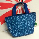 Insulate Lunch Box Thermal Cooler BAG Handbag Food Container school lunchbox BLUE