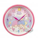 Sanrio Little Twin Stars 10.5 inches Wall Clock home bedroom time 掛牆鐘 ladies girls