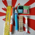 7 pieces Stationery Set Writing MIFFY Pencil Ball pen eraser ruler kit school office supply A