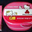 Sanrio Hello Kitty 2 Tier Bento Lunchbox Food Storage Container lunchbox Korea
