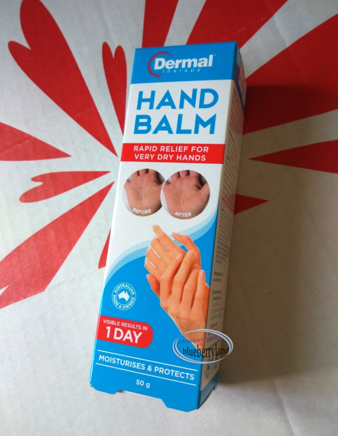 Dermal Therapy Hand Balm 50g for very dry hands skin care Health beauty ladies working hands