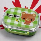Japan Smile Bear Bento Lunch Box airtight Food container microwaveable lunchbox