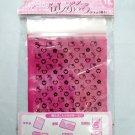 Sanrio HELLO KITTY Grip Seal Zip Lock 12cm x 18.5cm Resealable Bag x 15 Pcs