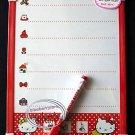 Sanrio HELLO KITTY White Board + Marker Eraser message back to school