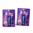 Japan Lotte Marui Blueberry Gum 21g x 2 Packets gums sweets mints breath ladies