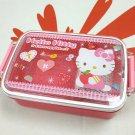Sanrio Hello Kitty Bento Lunchbox Food Container Microwave OK Lunch box Pink girls ladies