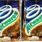 Wrigley's Airwaves Sugar free GUM Cold Brew Coffee Flavour Gums x 2 Packets Sugarfree snacks