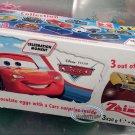 Zaini Disney Pixar Cars Chocolate Surprise 3 Eggs With Toy Figure Inside kids sweets treats