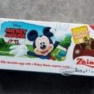 Zaini Disney Mickey Mouse Chocolate Surprise 3 Eggs With Toy Figure Inside choco kids N21