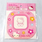 Sanrio HELLO KITTY Magnet Photo Frame Square Flower Sheet kitchen fridge