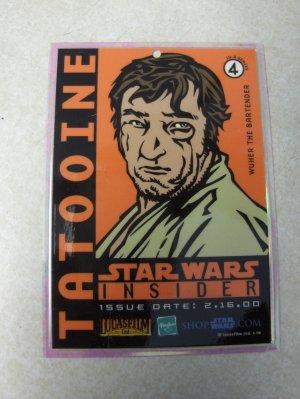 Star Wars Insider Wuher card