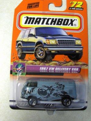 Matchbox 2000 1967 VW Delivery Van