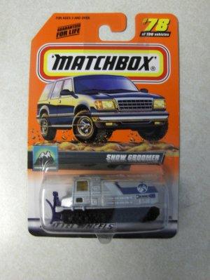 Matchbox 2000 Snow Groomer