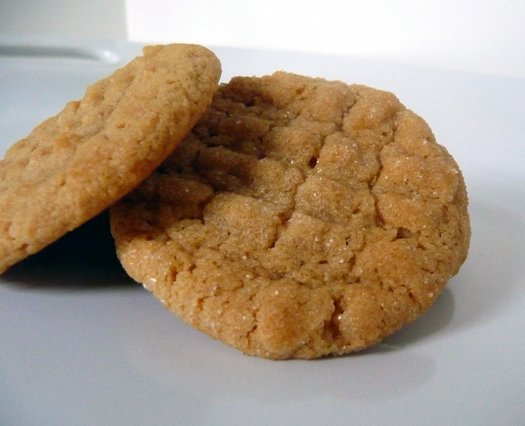 1/2 Dozen (6) Premium Homemade Peanut Butter Cookies