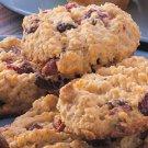 1 Dozen (12) Premium Homemade Oatmeal & Cranberry Cookies