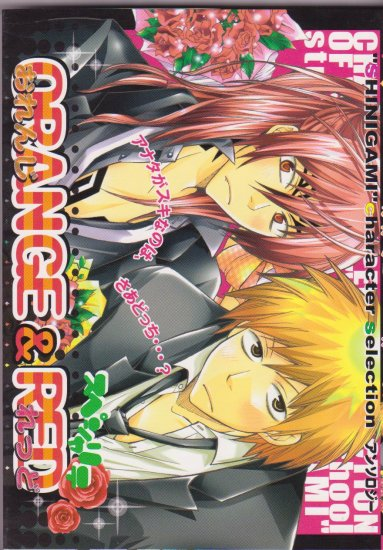 Bleach Shonen ai Doujinshi Anthology