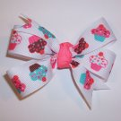 Cupcake Medium Boutique Bow