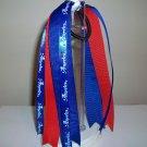 Red/White/Blue Pony Streamer