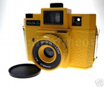 Sales - HOLGA 120 GCFN - Yellow Colour ** FREE Shipping