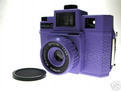 Sales - HOLGA 120 GCFN - Purple Colour ** FREE Shipping