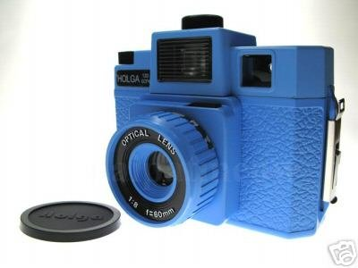 Sales - HOLGA 120 GCFN - Blue Colour ** FREE Shipping