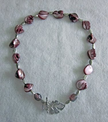 Amethyst Shell Necklace