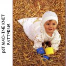 Machine Knitting patterns for Babies & Children