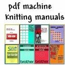 Brother KH-930/CompuKnit III Knitting Machine Manuals & Stitchworld + DAK on DVD