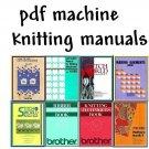 Brother KH-940/CompuKnit IV Knitting Machine Manuals & Stitchworld + DAK on DVD