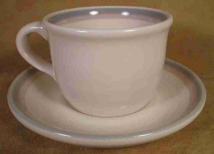 PFALTZGRAFF AURA CUPS & SAUCERS - 4 SETS